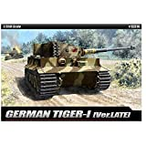 [Academy] Plastic Model Kit 1/35 GERMAN Tiger-1 ver.late (#13314) /item# G4W8B-48Q26111