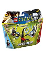 Lego Legends of Chima - 70140 - Speedorz - Le duel Scorpion vs. Lion
