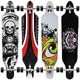 Longboard von [pro.tec]  - ABEC 7-Kugellager - Skateboard