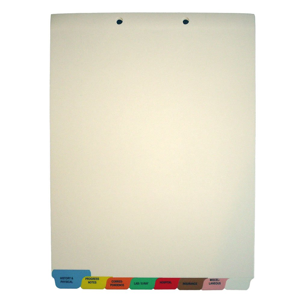 Medical Chart Dividers Stock Medical Chart Divider