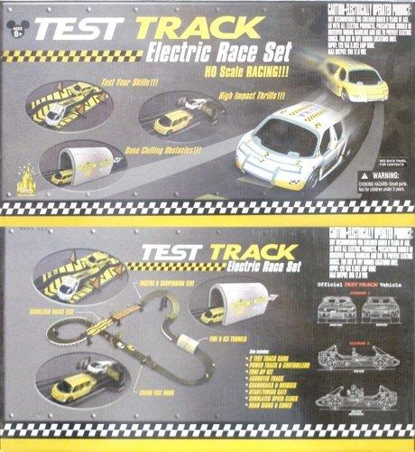 1999 Life-Like Disney Test Track Slot Car Race Set Rare