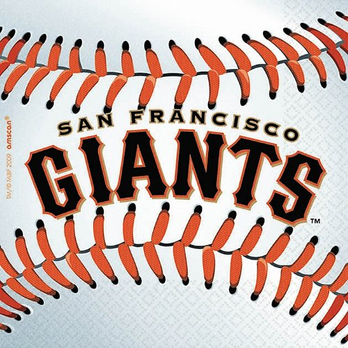 San Francisco Giants Baseball   Beverage Napkins