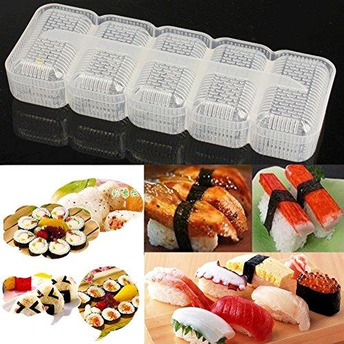 Genenic Convenient Non Stick Press Rice Ball Maker Bento Tools Sushi Mold Nigiri Mould (Nigiri Press compare prices)
