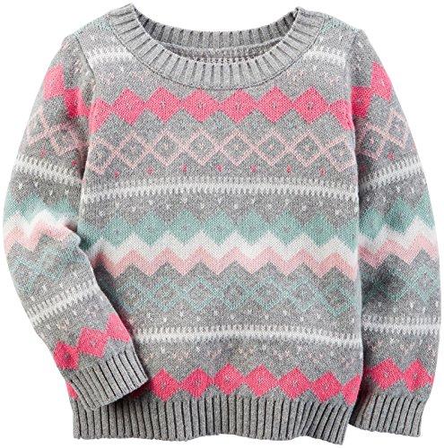 Carter's Baby Girls Sweater 235g549, Print, 24M