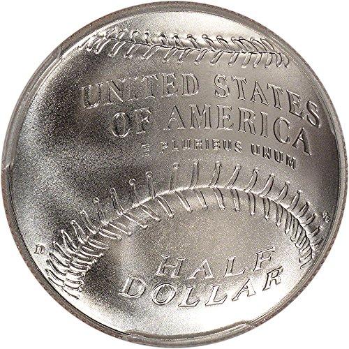 2014-D-US-Commemorative-BU-Half-Dollar-National-Baseball-Hall-of-Fame-50C-OGP-US-Mint