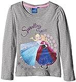 Disney - Camiseta de manga larga - para niña Gris gris
