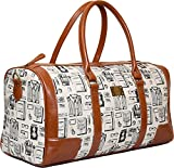 Clocharde Canvas Shoulder Bags (Off-White)