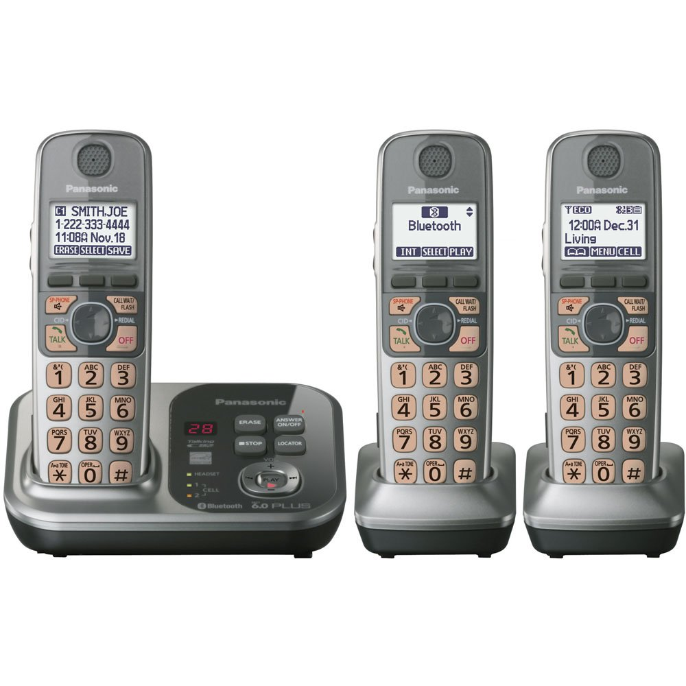 Panasonic Phones: Panasonic Phones Cordless Link2cell ...