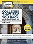 Colleges That Pay You Back, 2016 Edit...