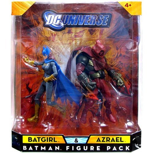 Buy Low Price Mattel DC Universe Classics Exclusive Action Figure 2-Pack Batgirl and Azrael (B001MT27UE)