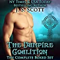 The Vampire Coalition: The Complete Boxed Set: The Vampire Coalition, Books 1-5 Audiobook by J. S. Scott Narrated by Elizabeth Powers