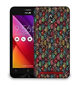 Snoogg Abstract Multicolor Pattern Design Designer Protective Phone Back Case Cover For Asus Zenfone GO