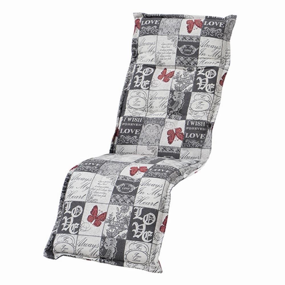 H.G. 5477118 Auflage Dessin Kiruna für Relax, 75% Baumwolle 25% Polyester, 170 x 50 x 8 cm günstig