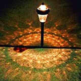 8PACK Promotion Solar Lights Sogrand Independent Solar Pathway Lights Solar Stake Lights Decoration Solar Garden Lights Set
