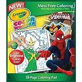 Crayola Spiderman Color Wonder Refill Book
