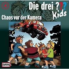 Die drei ??? Kids 04 - Chaos Vor Der Kamera
