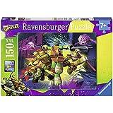 Ravensburger - 10006 - Puzzle Enfant Classique Les Tortues Ninjas - 150 Pièces XXL
