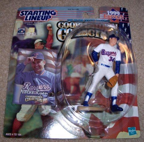 1999 Nolan Ryan MLB Cooperstown Collection Starting Lineup Figure