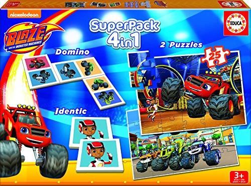 Blaze - Superpack de juegos (Educa 16853)
