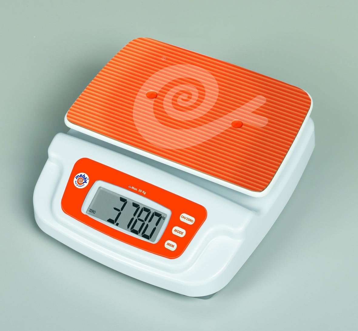 Mebby 91502 Baby and Child Digital Scales with Removable Tray