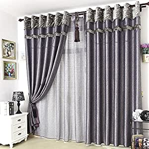 Custom made purple drapes curtains blackout - Black and gold living room curtains ...