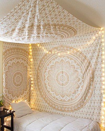jaipur-golden-ombre-mandala-tapisserie-mur-traditionnel-suspendu-parure-de-lit-couvre-lit-indien-rei