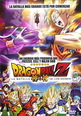 Dragon Ball Z Battle of Gods - Dragon Ball Z la Batalla de los Dioses DVD en Español Latino Region 1 y 4 NTSC