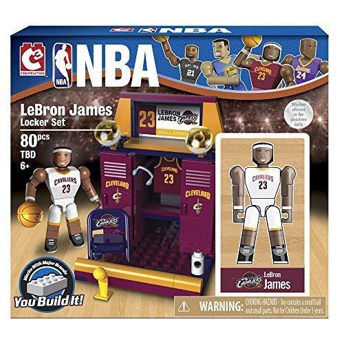 The Bridge Direct NBA Locker Room (Starter) Set: LeBron James by The Bridge Direct