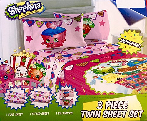 Shopkins Twin Sheets Set