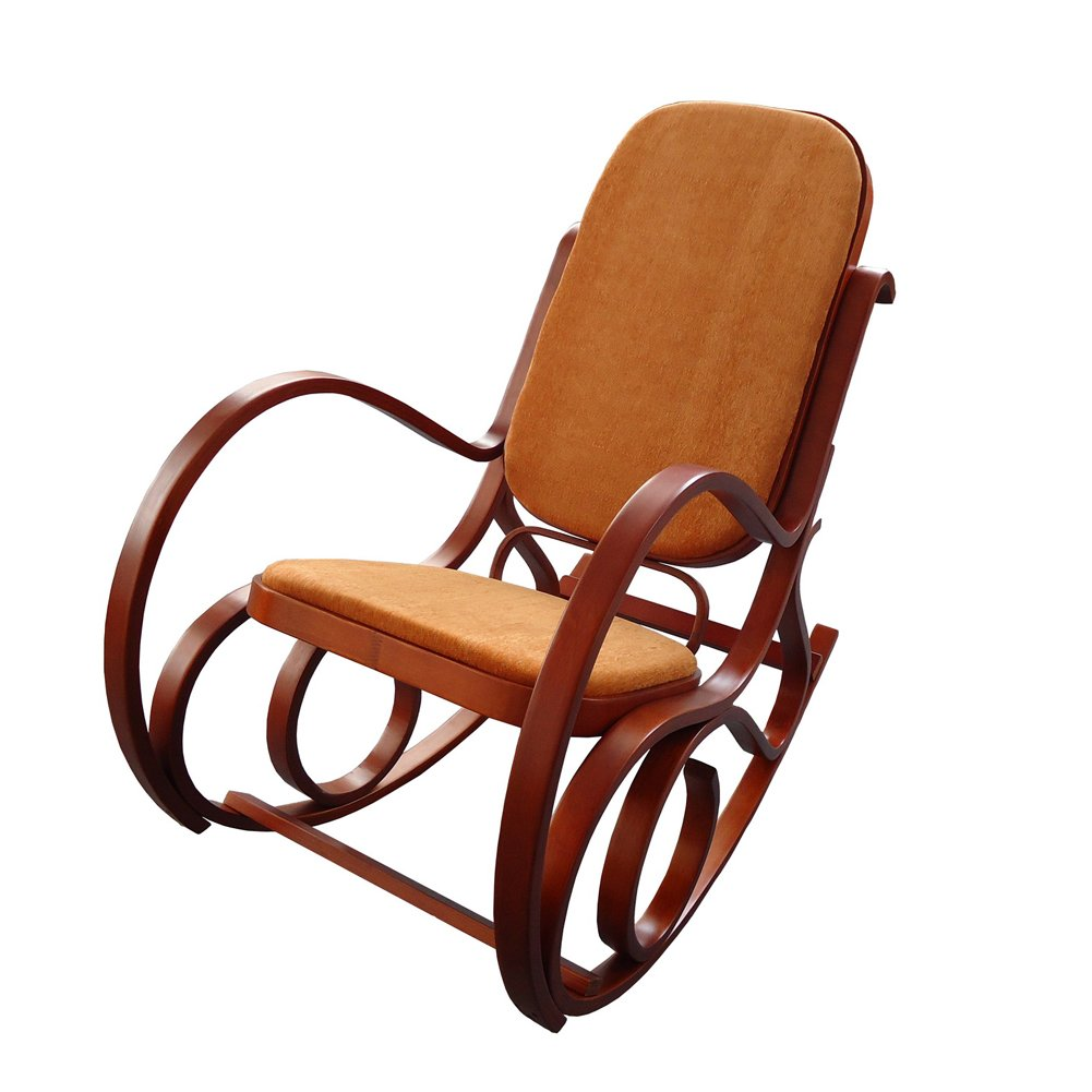 MYHOME FURNITURE Antique Relax Lounge Chair Meeting Chair Home Office Furniture (Antique Rocking Chair) 0