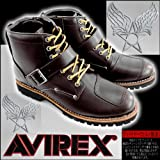 AVIREX アビレックス TIGER AV2931 バイカースタイルミッドブーツ(ラセット)