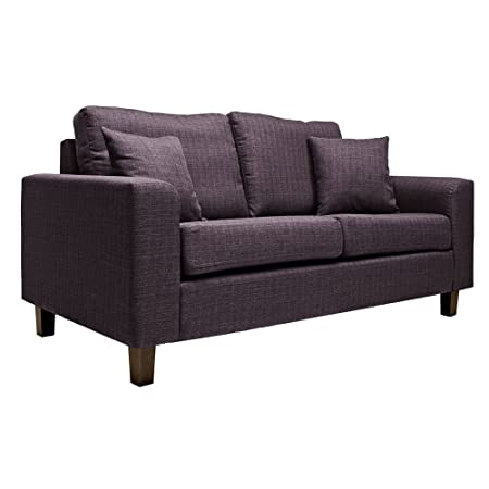 Sabichi Richmond Heather 2-Sitzer-Sofa modern Soft Lounge Möbel sc00004