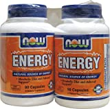 Now Foods Energy Capsules, 180-Count