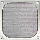 Cooltek Grille en aluminium, argent, ventilateur 140x140 mm