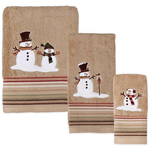 Heartland Snowman Bath Towel by HometoDeals