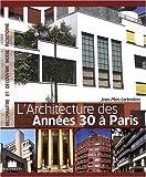 echange, troc Jean-Marc Larbodière - Architecture des Annees 30