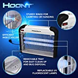 Hoont™ Powerful Electronic Indoor Bug Zapper - 32 Watts, Covers 6,000 Sq. Ft. / Fly Killer, Insect Killer, Mosquito Killer - For Residential, Commercial and Industrial Use