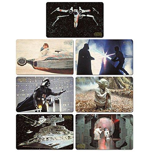 Set di taglieri Guerre stellari - Set di 7 taglieri Star Wars - design originale concesso su licenza - LOGOSHIRT