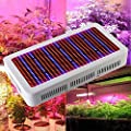 Derlight Full Spectrum High Power Led Grow Light, Red & Blue Mixed with UV+IR 85-265V, For Vegetable Flower Budding Horticulture Indoor Greenhouse Botanic Garden Hydroponic Growth Lamp