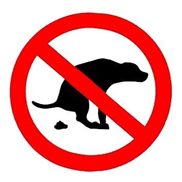 No Dog Poop Yard Signs Sign