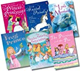 Various Usborne Young Reading Series 1 with CD Girl's Collection - 6 Books RRP £35.94 (Stories of Princes & Princesses + CD; The Twelve Dancing Princesses + CD; The Frog Prince + CD; The Little Mermaid + CD; Stories of Magical Animals + CD; The Princess