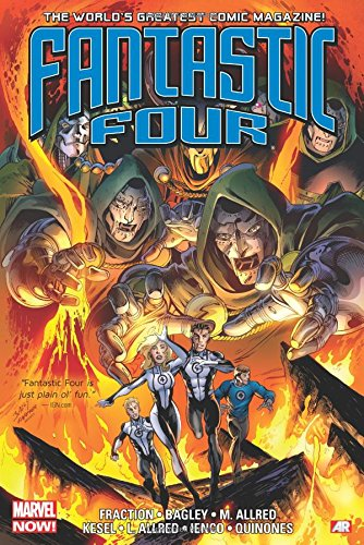 Fantastic Four by Matt Fraction Omnibus (Fantastic Four By Matt Fraction Omnibus: Marvel Now!) (Marvel Omnibus Fantastic Four compare prices)