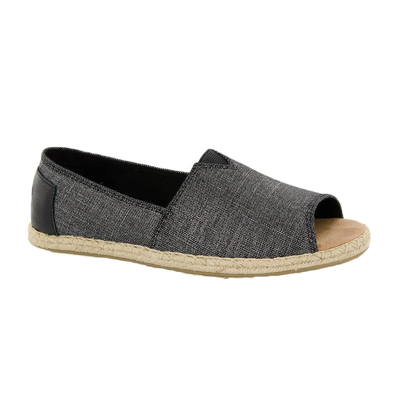 TOMS Open Toe Alpargatas Shoe - Women