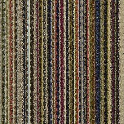 "Garland Rug Carnival Carpet Tile (16 Tiles/Case), 18"" x 18"", Multicolor"