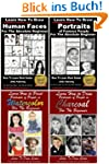 Portraits 4 Books - Learn to Draw Fac...