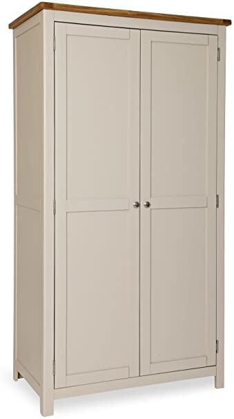 STONE PAINTED OAK FULL HANGING WARDROBE