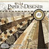 Eno Greeting Size 8X8 Inch 20 Design 40 Sheet Patterned Paper / Craft Paper/ Origami Paper DSM003 (RETRO STYLE)