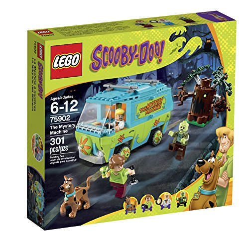New LEGO Scooby Doo Mystery Machine Building