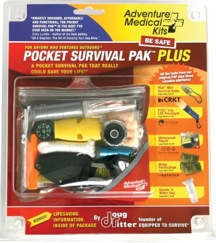 Adventure Medical Kits Pocket Survival Pak Plus