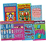 Jacqueline Wilson Jacqueline Wilson Collection 7 Books Set (Secrets, Starring Tracy Beaker, Clean Break, Double Act, Best Friends Sleepovers, The Jacqueline Wilson Friendship Journal)